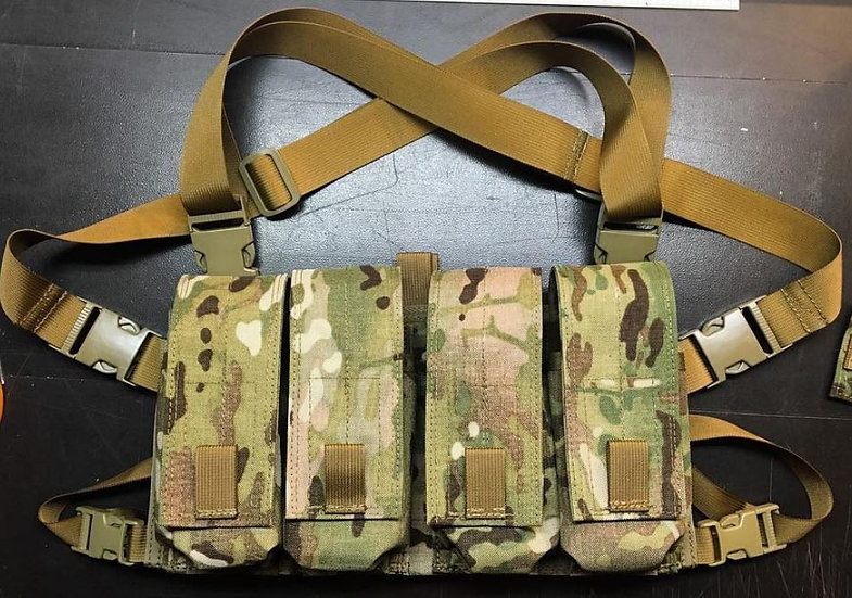 8 Mag AR/AK Chest Rig