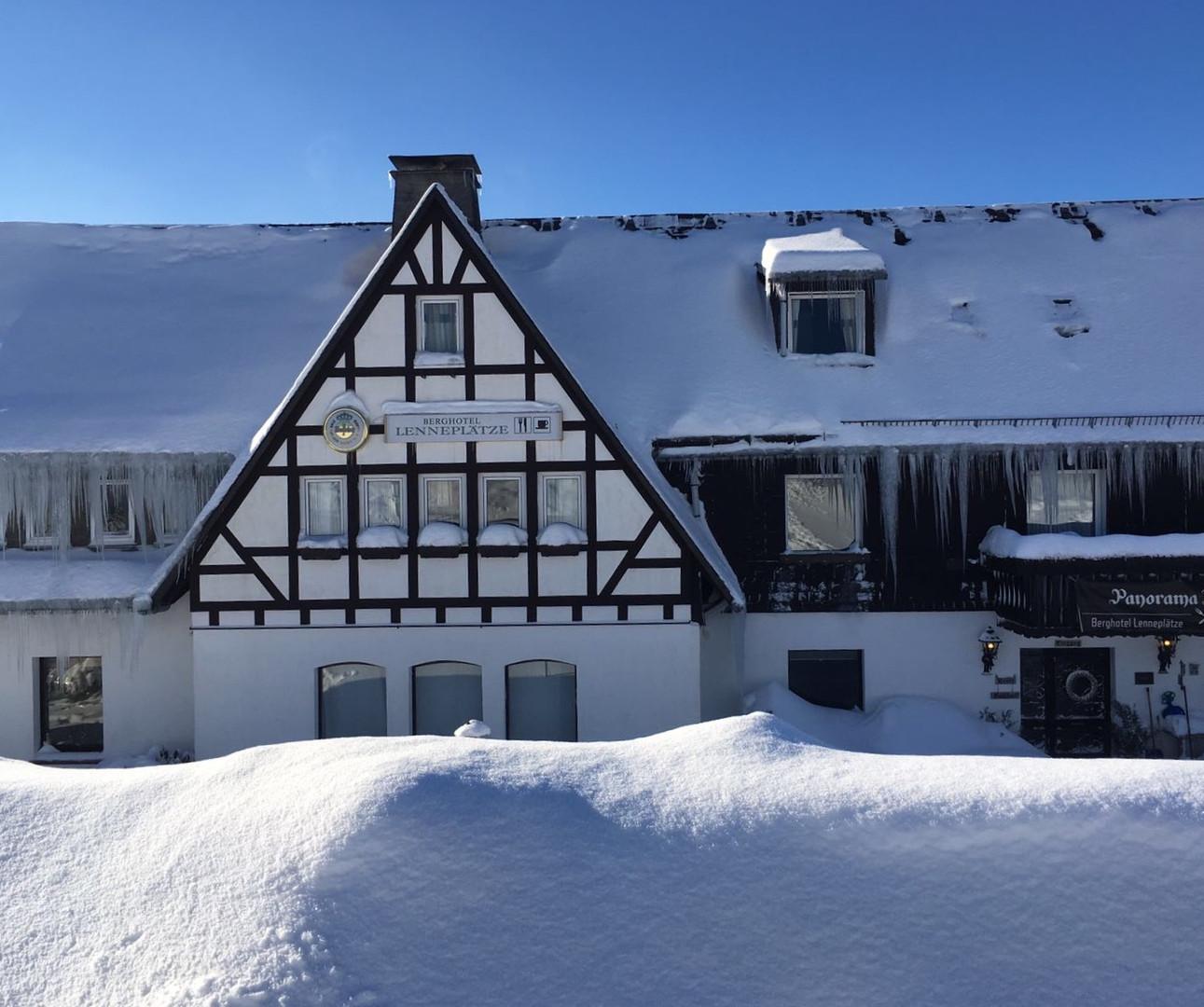 Sprookje in de sneeuw