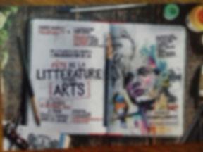FETE DE LA LITTERATURE ET DES ARTS 2019