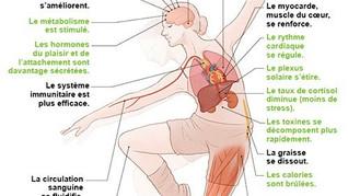 Les effets de la danse sur notre corps