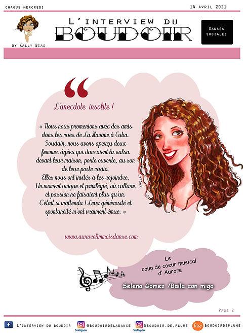 L'interview du Boudoir