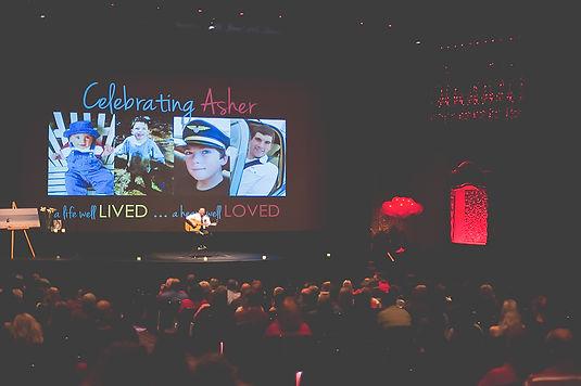 Celebration of Life Memorial Mount Baker Theatre copyrght Jen Owen