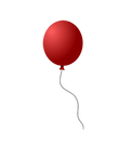 Epic Memorials Logo red balloon