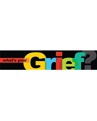 What's your grief logo gref support