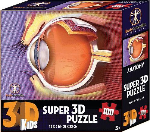 Super 3D Anatomy Puzzle -Eye