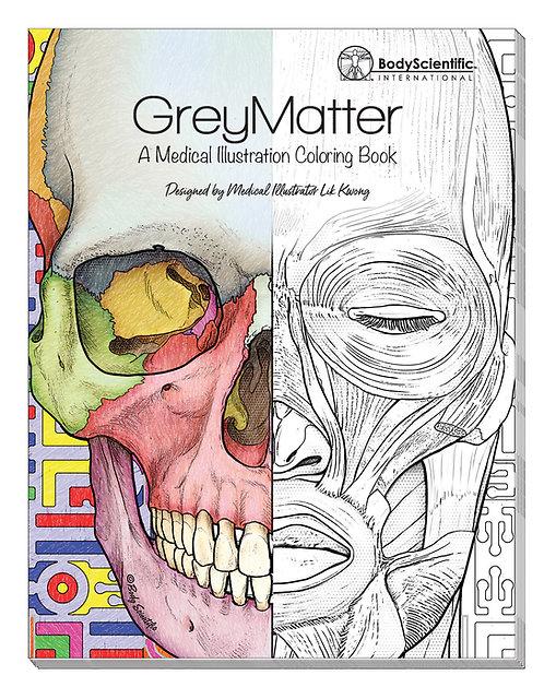 Grey Matter - Coloring Book