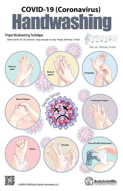 COVID-19 (Coronavirus) Handwashing
