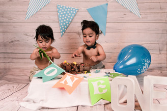 Cake Smash / 1st Birthday Photography London in Studio and Outdoor - BBOS Photography