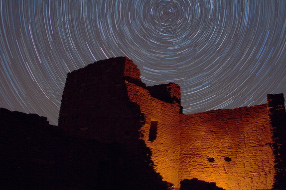 Wukoki Star Trails