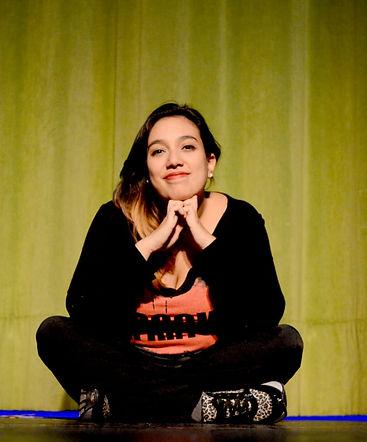 Agustina Cañaz Papaleo profesora de teatro