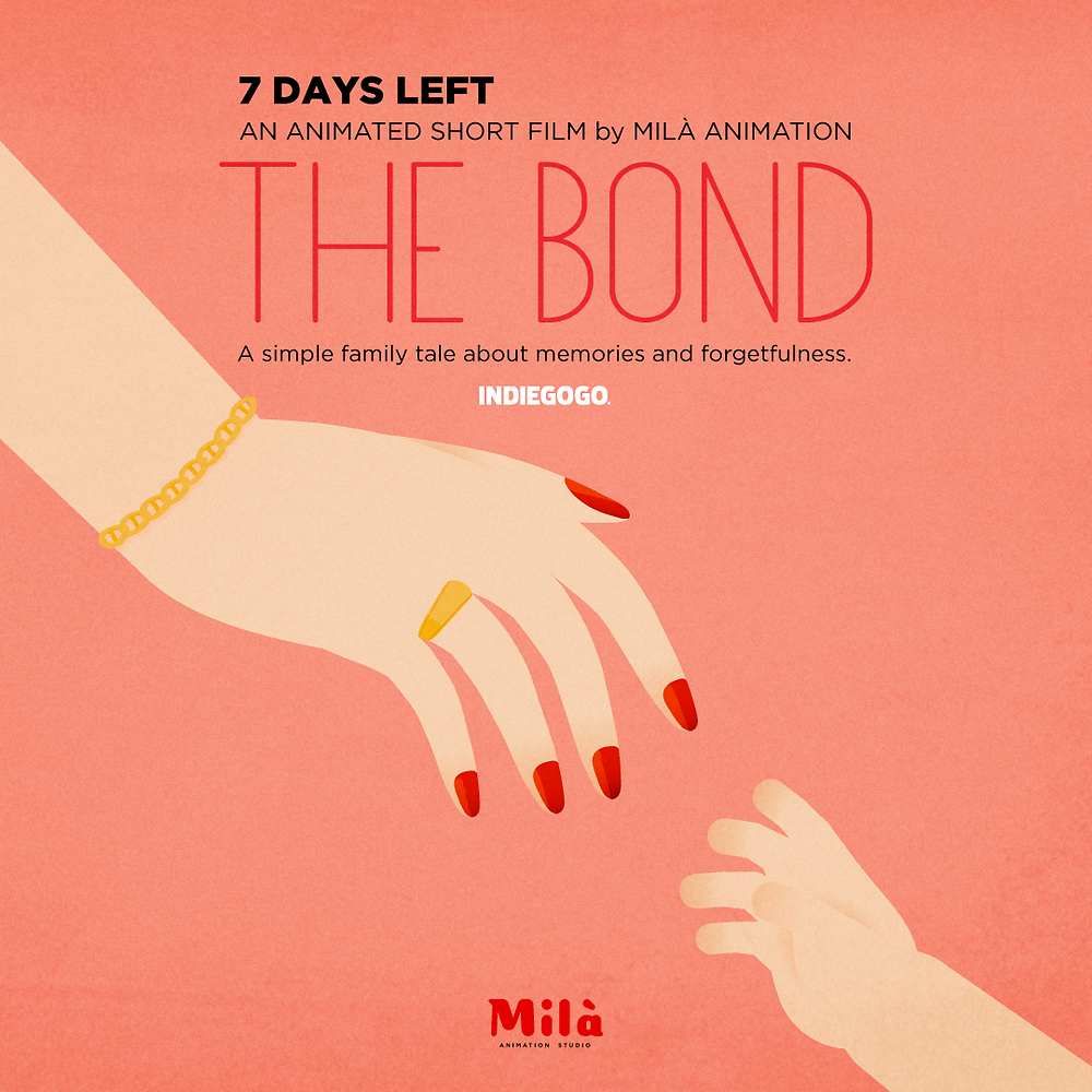 the bond, el lazo, crowdfunding, indiegogo, costa rica, barcelona, spain, españa, micromecenazgo, shor film, animation, animated,