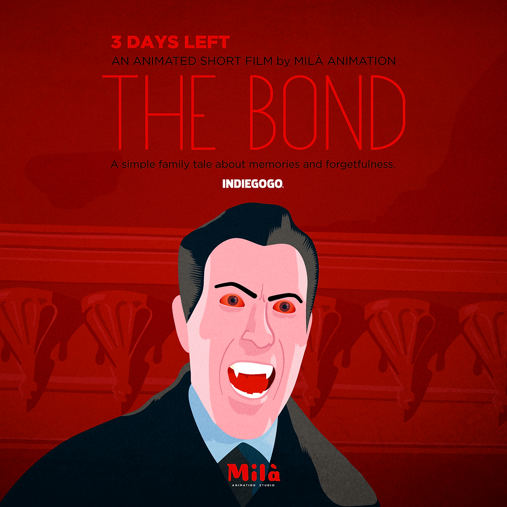 dracula, the bond, el lazo, short film, animation, indiegogo, film, filmmaking, christopher lee,