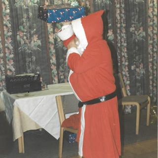 Colin as Santa