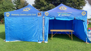 Wetherby Lions 'Produce' for Bramham Show
