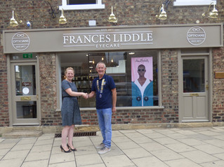 Wetherby Opticians focus on charity event in aid of Yorkshire Air Ambulance