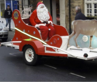 Santa is coming to town.....