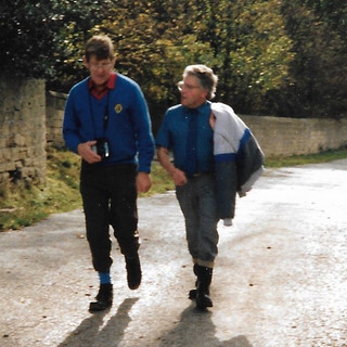 Colin walks through Harewood grounds