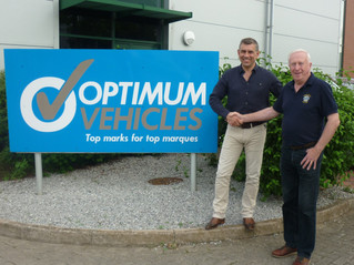 Optimum Vehicles join the drive to support Lions !
