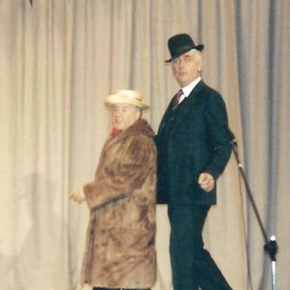 Colin as Bud Flanagan