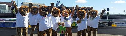 Lions Mascot Team