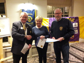 A 'Roaring Success' for New Wetherby Lion Members Increasing Den by 3