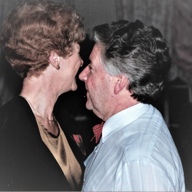 Colin with Connie Fox
