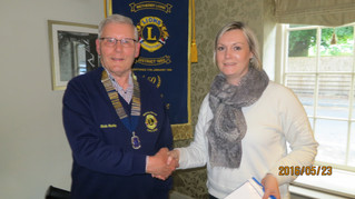New Member of Wetherby District Lions Club