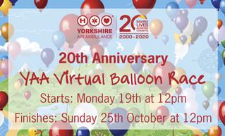 Support for YAA Birthday Balloon Race
