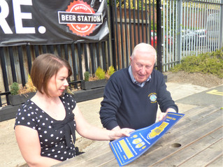 Wetherby Accountant Supports Wetherby Lions Beer Festival
