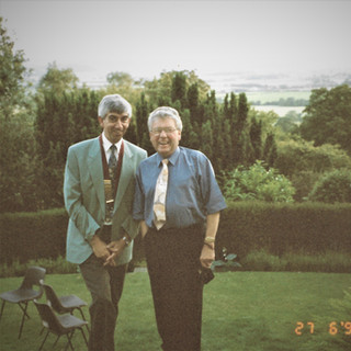 Colin with LP John W in 1993
