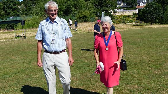 The Mayor and Mayoress