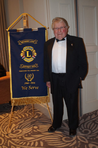 Wetherby District Lions Club - 50th Charter Anniversary Dinner