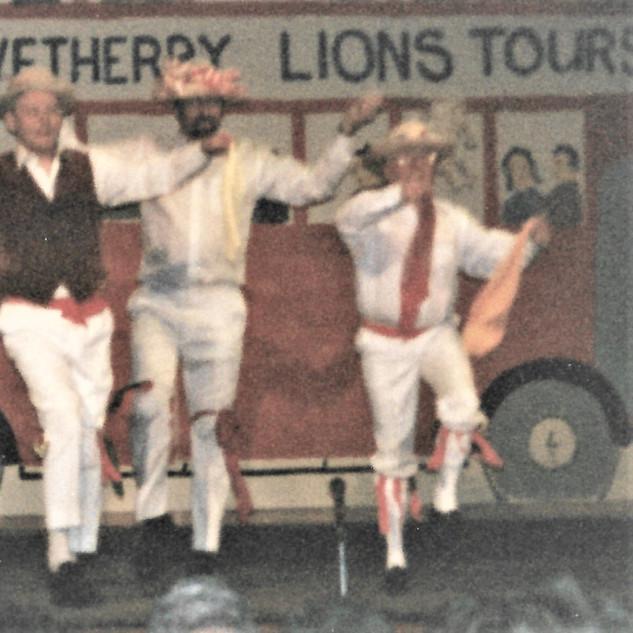 Colin Moriss dancing - February 1997