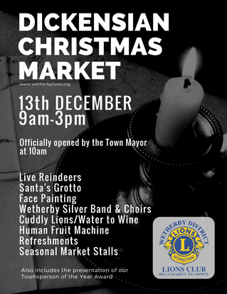 Wetherby Dickensian Christmas Market