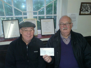 Donation to Old Men's Parliament