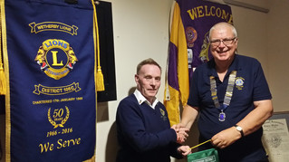 Wetherby Lions Receive Prestigious Visitor