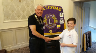 Wetherby Lions Supports James Tatterton
