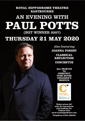 Paul Potts Concert - Eastbourne