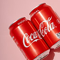 Eau plate / Eau pétillante / Coca Cola / Coca Cola Zéro