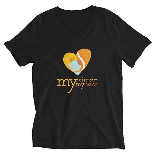 MSMS Short Sleeve V-Neck T-Shirt