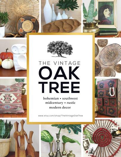 The Vintage Oak Tree