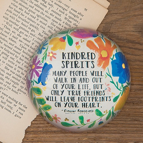 Paper weight Kindred Spirits