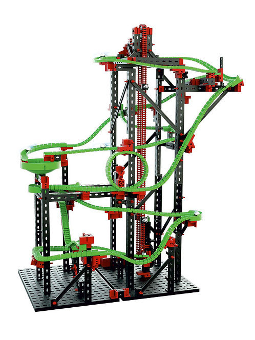 Large Marble Run with Electric Motor