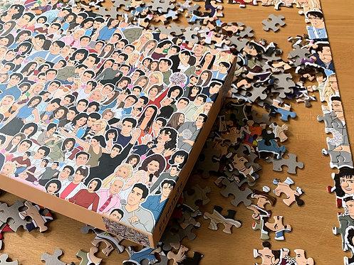 Friends: 500 piece jigsaw puzzle