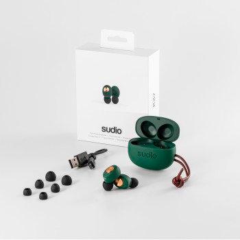 "Sudio ""Tolv"" Bluetooth® True Wireless Headphones, green"