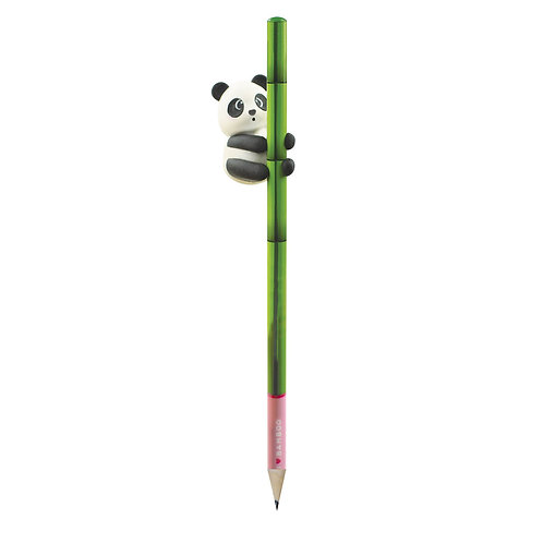 I LOVE BAMBOO - PENCIL WITH ERASER