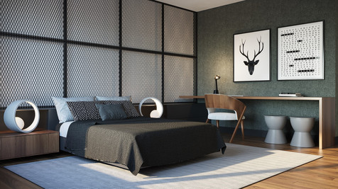 Apartamento modelo Voga