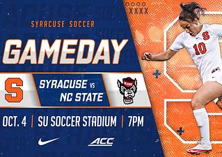 Syracuse vs NC State Soccer ADVANCED Pre