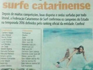 Os campeões do surf catarinense - diário catarinense