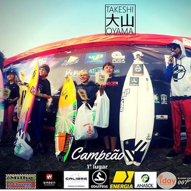 _Fim de semana de muito surf Campeão da 5ªEtapa do Circuito Paranaense catego